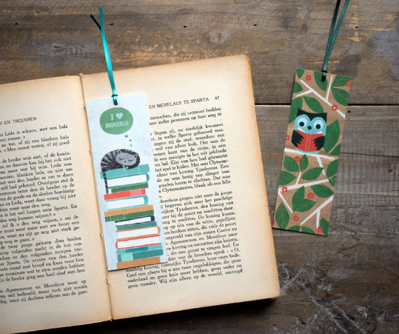 how to create a bookmark for books